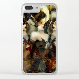 """Hydra (or The Bitch)"" Clear iPhone Case"
