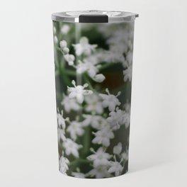 Small little white flowers Travel Mug