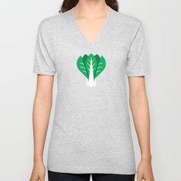 Vegetable: Bok Choy Unisex V-Neck