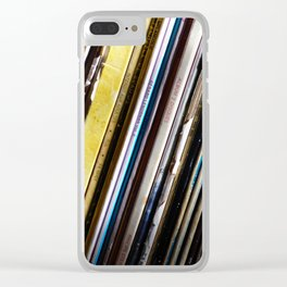 My life is a song Clear iPhone Case
