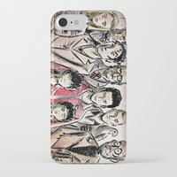 tenenbaums iPhone & iPod Cases featuring The Royal Tenenbaums by Joe Badon