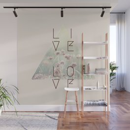 Live & Love Vintage Wall Mural