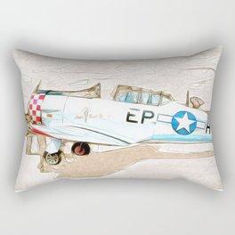 Grumman Trainer Rectangular Pillow