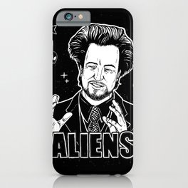 Aliens Guy (Giorgio Tsoukalos) iPhone Case