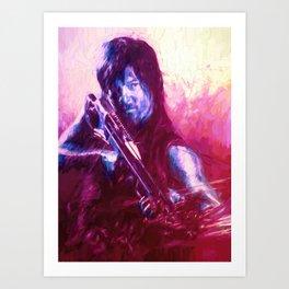 TWD Daryl Art Print