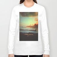 paradise Long Sleeve T-shirts featuring Paradise by Daniel Montero