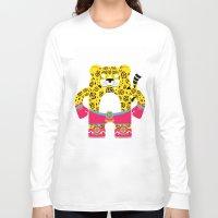 jaguar Long Sleeve T-shirts featuring Jaguar by EinarOux