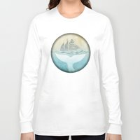 moby Long Sleeve T-shirts featuring Moby by Vin Zzep
