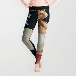 Vintage poster - Pates de Foie Gras Leggings
