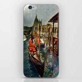 Waterway At Dusk iPhone Skin