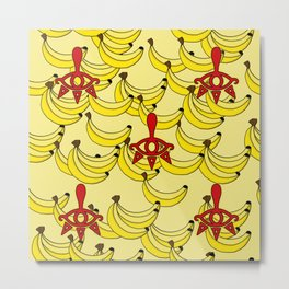 Banana Clan Metal Print