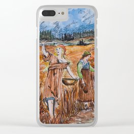 The First Harvest Clear iPhone Case