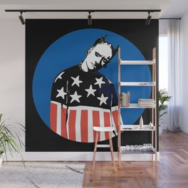 Keith Prodigy Blue and Black *All proceeds donated to charity* Wall Mural