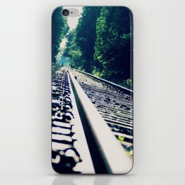 Abandoned LIRR Line at Forest Park in NYC, New York City iPhone Skin