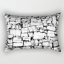 Dun Aonghasa Fortress Wall Rectangular Pillow
