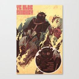 Ye Olde Smokey Canvas Print