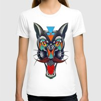 panther T-shirts featuring panther by Ronan Holdsworth