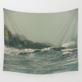 Into the Waves IX Wall Tapestry