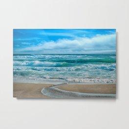 sea beach Metal Print