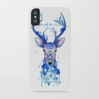 harry potter iPhone & iPod Cases featuring Always. Harry Potter patronus. by Simona Borstnar