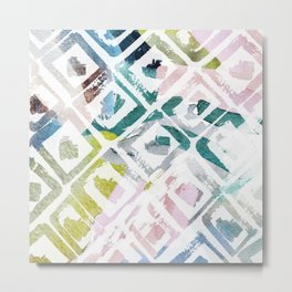 Awash | Colorful Geometric Print Metal Print