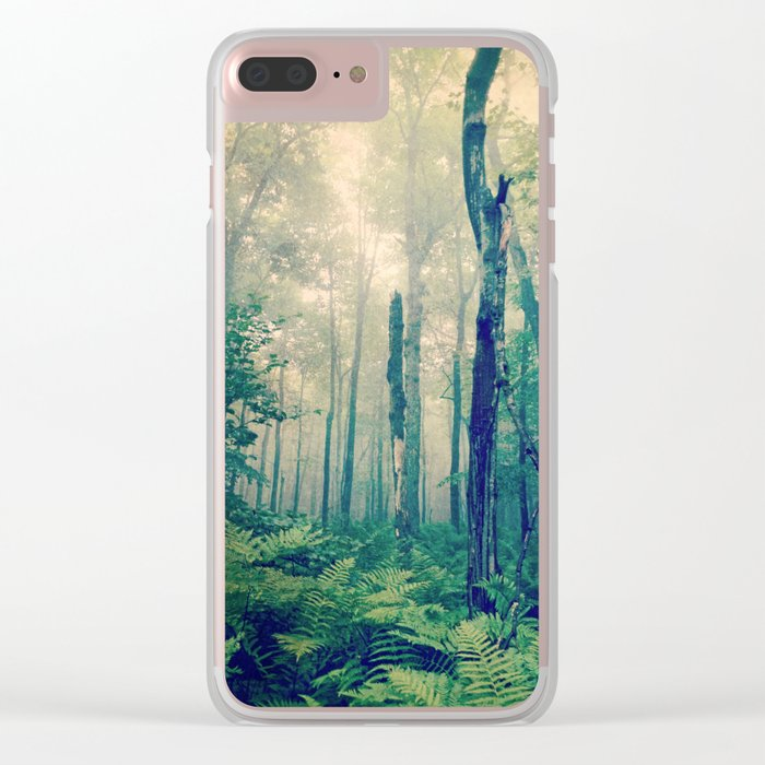 Walk to the Light Clear iPhone Case