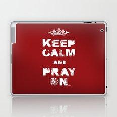 Keep Calm And Pray On Laptop & iPad Skin
