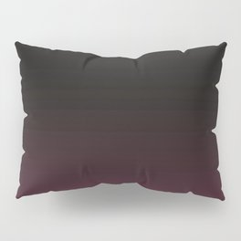 Faded Background, Burgundy, Color Change Pillow Sham