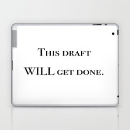 Writing motivation #1 Laptop & iPad Skin