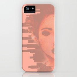Girl Meets the Big City iPhone Case