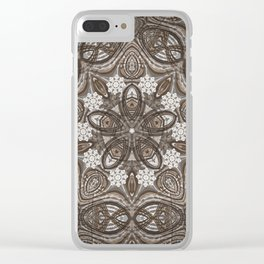 flor arabica 4 Clear iPhone Case