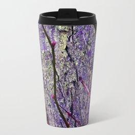 Ultra Violet Poetry of January Travel Mug