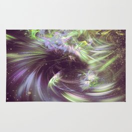 Twisted Time - Black Hole Effects Rug