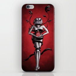 Science witch of organic chemistry iPhone Skin