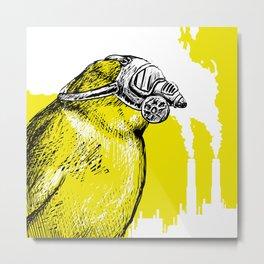 Trash Birds - Air Pollution Metal Print