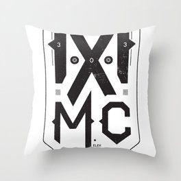 MXMC Throw Pillow