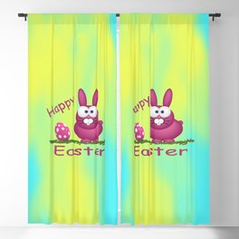 Happy Easter Blackout Curtain