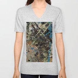 Number 1 (Lavender Mist ) by Jackson Pollock Unisex V-Neck
