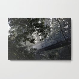 In To The Mist Metal Print