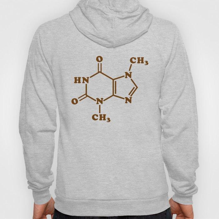 Chocolate Theobromine Molecule Chemical Formula Hoody