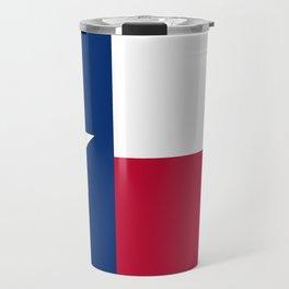 Texas State Flag, Authentic Version Travel Mug