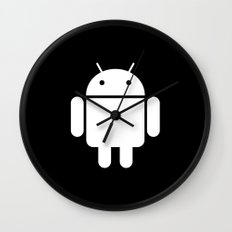 Android Skin for iPhone Wall Clock