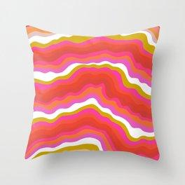 summer of love Throw Pillow