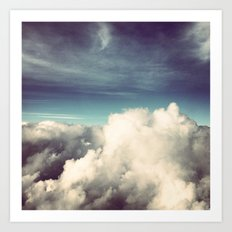 Clouds II Art Print
