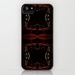 Driven by bus iPhone Case