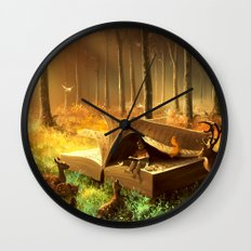 A safe place where you can go Wall Clock