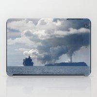 duvet cover iPad Cases featuring AMAZING CLOUD DUVET COVER by aztosaha