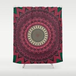 FineLine Mandala 13 Shower Curtain