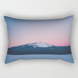 Winter Sunrise  Rectangular Pillow