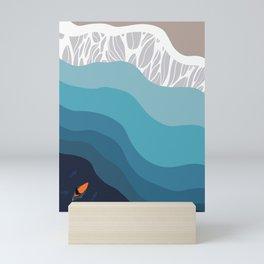 The Surf Mini Art Print